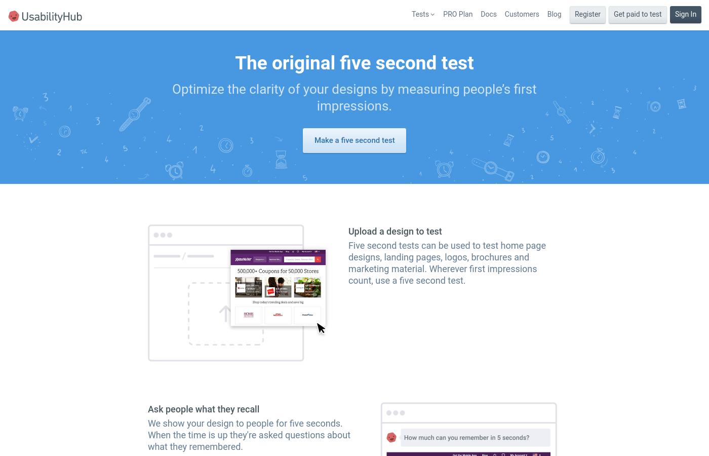 5 Seconds Test