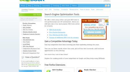 Seobook Toolbar