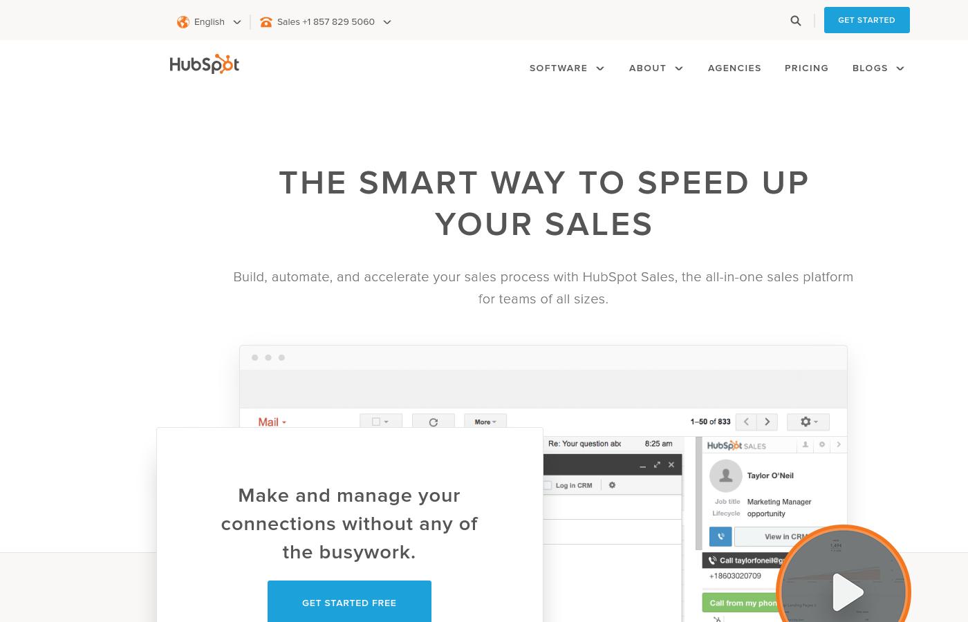 GrowthJunkie Tool | HubSpot | Customer Relationship Mgmt (CRM)