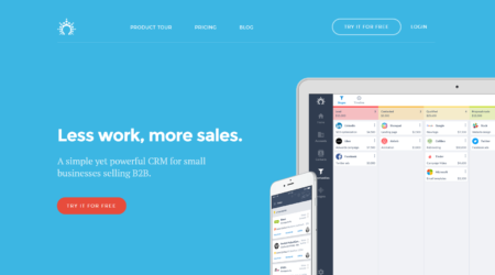 GrowthJunkie Tool | Salesflare | Customer Relationship Mgmt (CRM)
