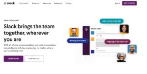 GrowthJunkie Tool | Slack | Collaboration - Communication