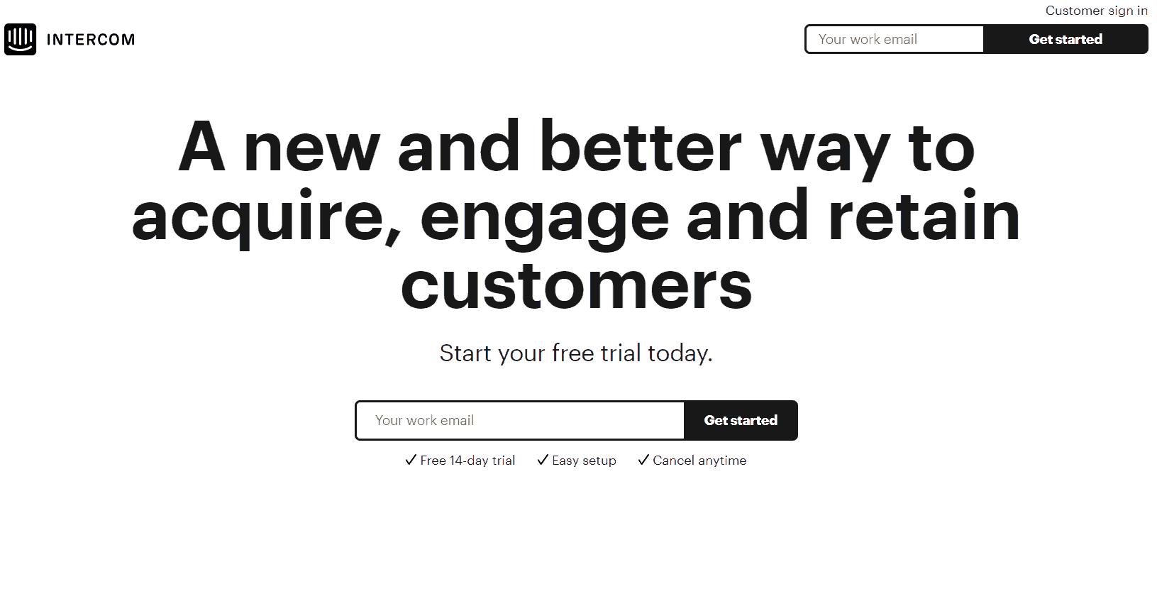 GrowthJunkie Tool | Intercom | Customer Engagement