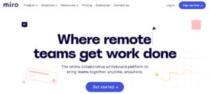 GrowthJunkie Tool | Miro | Ideas Visualization