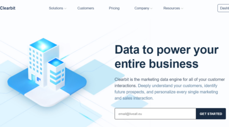GrowthJunkie Tool | Clearbit | Data Enrichment