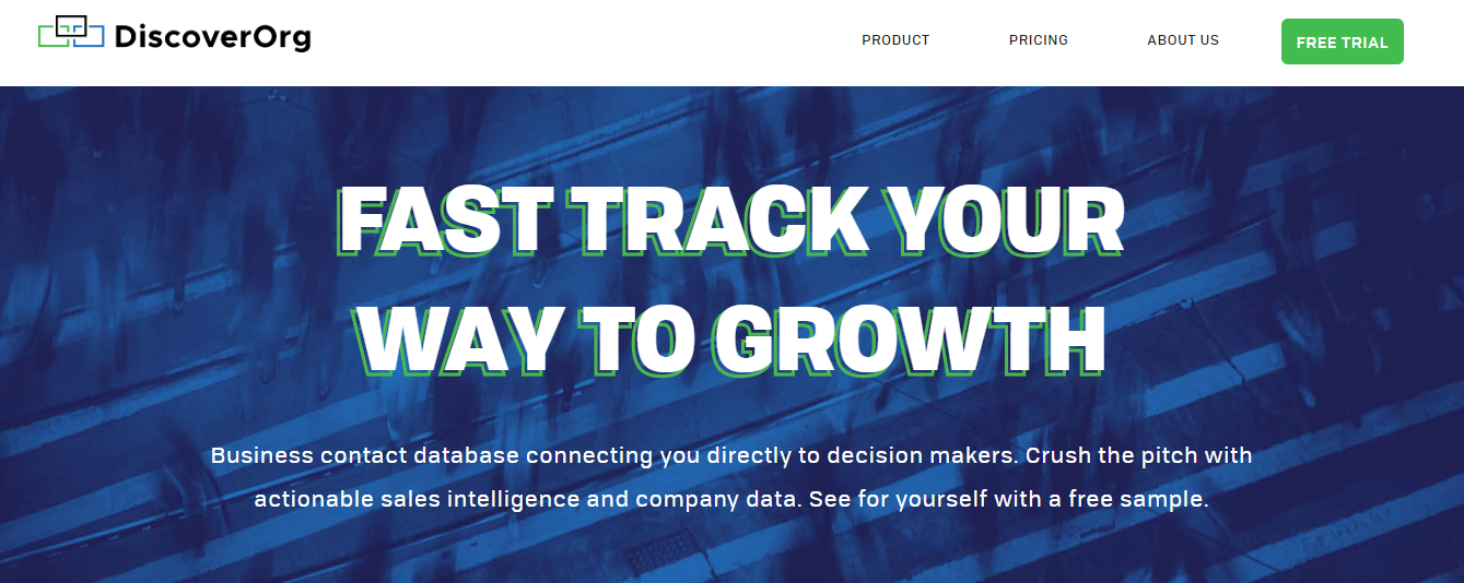 GrowthJunkie Tool | DiscoverOrg | Data Enrichment