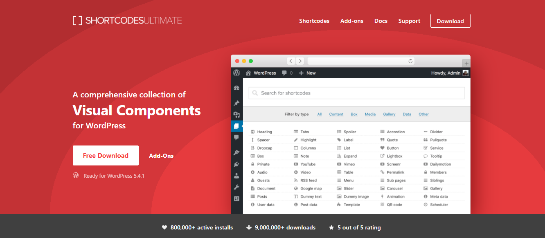GrowthJunkie Tool | Shortcodes Ultimate | Wordpress Tools
