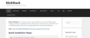 GrowthJunkie Tool | SlickStack | Wordpress Tools