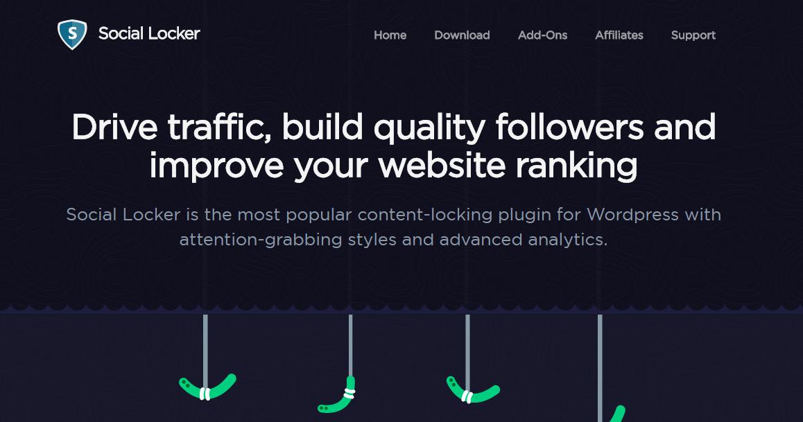 GrowthJunkie Tool | Social Locker | Wordpress Tools