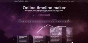 GrowthJunkie Tool   ChronoFlo Timeline Maker   Ideas Visualization