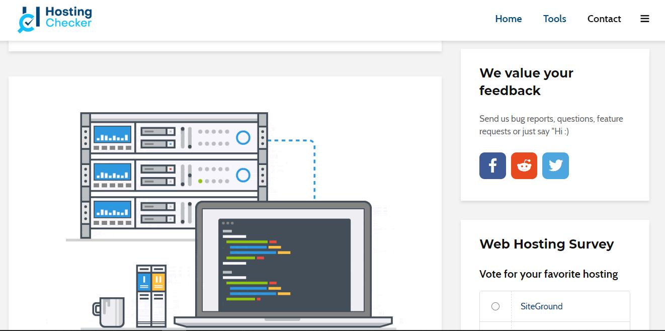 GrowthJunkie Tool | Hosting Checker | Hosting
