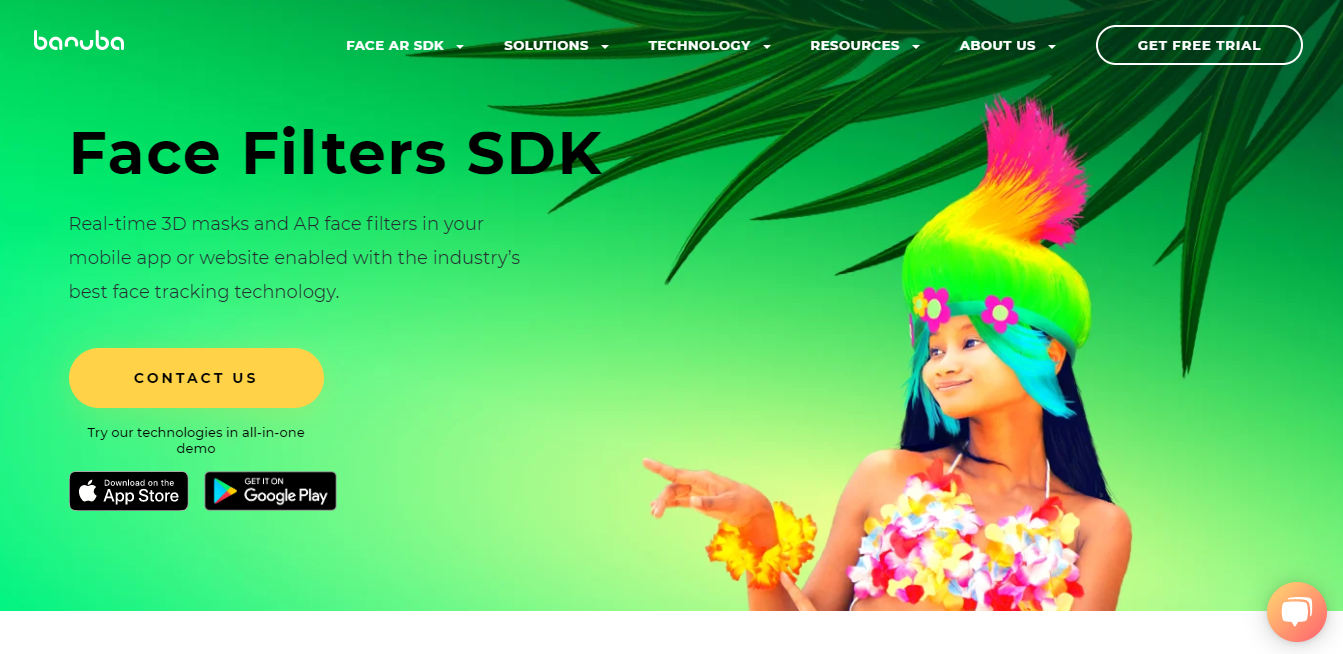 GrowthJunkie Tool | Face AR SDK | Graphics Design - Photo