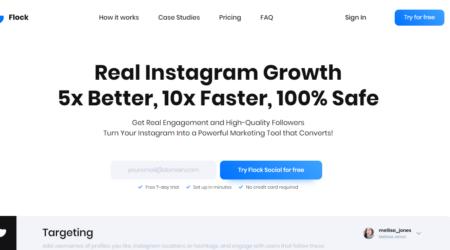 GrowthJunkie Tool | Flock Social | Social Media