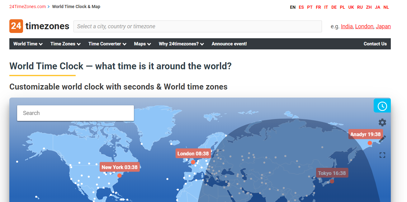 GrowthJunkie Tool | 24Timezones | Productivity