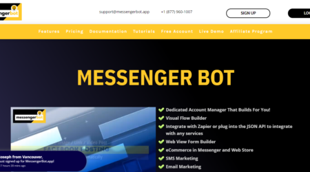 GrowthJunkie Tool | MessengerBot.app | Customer Engagement